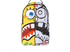 נעלי SAND - תיק SSPONGDOODLE BOB BACKPACK ספרייגראונד |  SPRAYGROUND